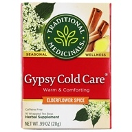Traditional Medicinals - Gypsy Cold Care Tea - Promotes Respiratory Health - 16 Tea Bags