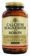 Solgar - Calcium Magnesium Boron - 250 Tablets, from category: Vitamins & Minerals