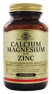 Solgar - Calcium Magnesium Plus Zinc - 100 Tablets