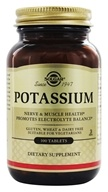 Solgar - Potassium - 100 Tablets, from category: Vitamins & Minerals