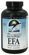 Source Naturals - ArcticPure EFA Essential Fatty Acids Lemon Flavor 325 mg. - 120 Softgels CLEARANCED PRICED - $13