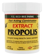 YS Organic Bee Farms - Propolis In Honey 55000 mg. - 5.5 oz. (726635970975)