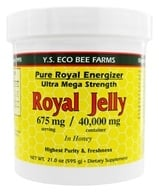 YS Organic Bee Farms - Pure Royal Energizer: Royal Jelly In Honey 675 mg. - 21 oz. (726635510515)