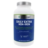 Image of Vita Logic - Daily Extra Iron Free Complete Multi-Vitamin & Mineral Formula Once Daily - 180 Tablets