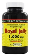 YS Organic Bee Farms - Royal Jelly Softgels (Mega Strength) 1000 mg. - 60 Softgels (726635787283)
