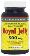 Image of YS Organic Bee Farms - Royal Jelly Softgels 500 mg. - 30 Softgels