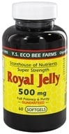 YS Organic Bee Farms - Royal Jelly Softgels 500 mg. - 60 Softgels