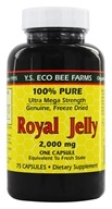 YS Organic Bee Farms - Royal Jelly Caps 2000 mg. - 75 Capsules