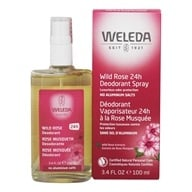 Weleda - Deodorant Spray Wild Rose Scent - 3.4 oz. (4001638088084)