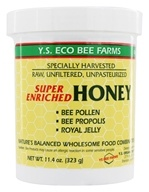 Image of YS Organic Bee Farms - Super Enriched Honey 16000 mg. - 11 oz.