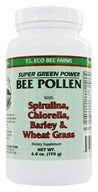YS Organic Bee Farms - Super Green Power Bee Pollen - 6 oz.