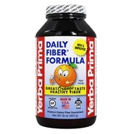 Yerba Prima - Daily Fiber Orange - 16 oz., from category: Nutritional Supplements