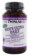 Twinlab - Men's Ultra Daily Advanced Multi-Vitamin & Mineral Supplement - 120 Capsules by Twinlab
