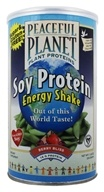 VegLife - Peaceful Planet Soy Protein Energy Shake Berry Bliss - 11.8 oz., from category: Health Foods
