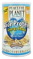 VegLife - Peaceful Planet Rice Protein Energy Shake Caribbean Cocoa - 13.2 oz. - $12.98