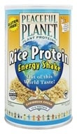 VegLife - Peaceful Planet Rice Protein Energy Shake Caribbean Cocoa - 13.2 oz. by VegLife