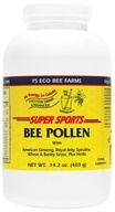 YS Organic Bee Farms - Super Sports Bee Pollen Protein Drink Enhancer - 14 oz. (726635877878)