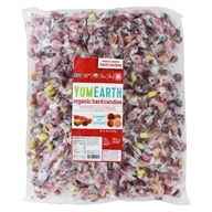 Image of Yummy Earth - Organic Candy Drops Gluten Free Assorted Fruit Flavors - 5 lbs. BULK VALUE!