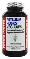 Yerba Prima - Psyllium Husk Vegetarian Capsules - 180 Capsules, from category: Nutritional Supplements