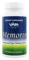 Vaxa - Memorin 660 mg. - 60 Vegetarian Capsules, from category: Nutritional Supplements