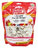 Yum Earth - Organic Candy Drops Gluten Free Wild Peppermint Flavor - 13 oz.