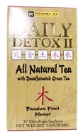 Wellements - Daily Detox II All Natural Tea Passion Fruit - 30 Tea Bags, from category: Teas