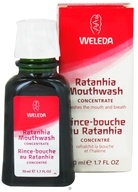 Weleda - Ratanhia Mouthwash Concentrate - 1.7 oz.