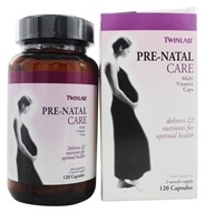 Twinlab - Pre-Natal Care - 120 Capsules, from category: Vitamins & Minerals