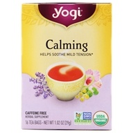 Image of Yogi Tea - Calming Tea with Organic Chamomile Caffeine Free - 16 Tea Bags