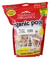 Image of Yummy Earth - Organic Lollipops Gluten Free Mango Tango Flavor - 12.3 oz.