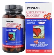 Twinlab - Cholesterol Success Plus - 120 Tablets by Twinlab