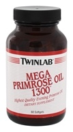 Image of Twinlab - Primrose Oil Mega 1300 mg. - 60 Softgels
