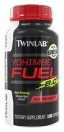 Image of Twinlab - Yohimbe Fuel 8.0 Yohimbe Bark Extract 400 mg. - 100 Capsules