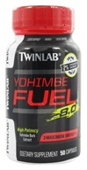 Twinlab - Yohimbe Fuel 8.0 Yohimbe Bark Extract 400 mg. - 50 Capsules, from category: Sports Nutrition
