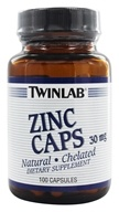 Image of Twinlab - Zinc Caps 30 mg. - 100 Capsules