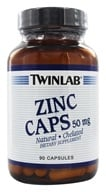 Image of Twinlab - Zinc Caps 50 mg. - 90 Capsules
