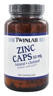Image of Twinlab - Zinc Caps 50 mg. - 180 Capsules