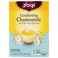 Yogi Tea - Comforting Chamomile Organic Tea Caffeine Free - 16 Tea Bags Formerly Chamomile by Yogi Tea