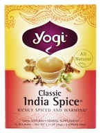 Yogi Tea - Classic India Spice Tea Organic Caffeine Free - 16 Tea Bags, from category: Teas
