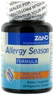 Zand - Allergy Season Formula - 60 Vegetarian Capsules, from category: Nutritional Supplements