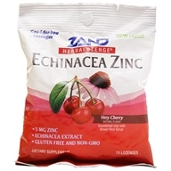 Zand - Herbalozenge Echinacea Zinc Cherry Flavor 5 mg. - 15 Lozenges, from category: Health Foods