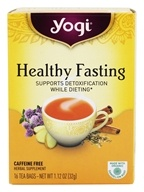 Yogi Tea - Healthy Fasting Organic Red Clover Tea Caffeine Free - 16 Tea Bags Formerly Fasting