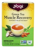Image of Yogi Tea - Green Tea Muscle Recovery Tea - 16 Tea Bags Formerly Green Tea Active Body