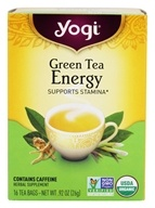 Yogi Tea - Green Tea Energy - 16 Tea Bags, from category: Teas