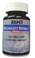 Zand - Decongest Herbal Formula - 48 Capsules, from category: Herbs