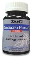 Zand - Decongest Herbal Formula - 48 Capsules (041954010097)