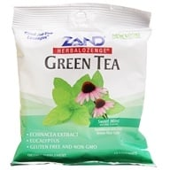 Zand - Herbalozenge Green Tea with Echinacea Green Tea Flavor - 15 Lozenges (041954000104)