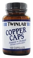 Twinlab - Copper Caps 2 mg. - 100 Capsules (027434010177)