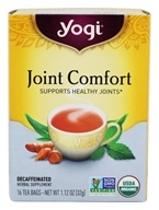 Yogi Tea - Joint Comfort with Organic Tumeric - 16 Tea Bags ...