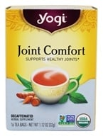 Image of Yogi Tea - Joint Comfort Tea 100% Natural Low Caffeine - 16 Tea Bags